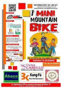 CARTEL MINI MOUNTAIN BIKE DE CABRA 2012