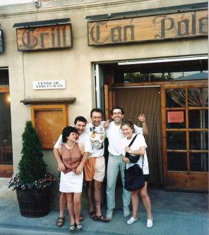 Nuestros amigos Carmen y Paco se acordaron de nosotros y quisieron visitarnos en su Luna de Miel