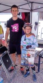 Con el Campeón del Mundo Abel Mustieles